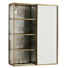 Wall Box With Seven Shelves And Mirror by Madam Stoltz