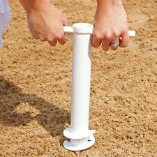 Sunnydaze Beach Umbrella Anchor Stand Outdoor Sand Auger Screw-In - Heavy-Duty