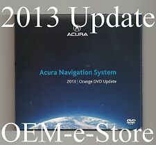 2013 Update 2004 2005 2006 Acura TL Sedan Navigation Orange DVD Map U.S Canada