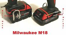 Milwaukee  M18 Impact Driver Drill - Combo Kit : BIT HOLDER and BELT CLIP / HOOK