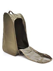 Muddy Boot Bag Vented Wellington Welly Green Dirty Boot Holder Carrier Carry