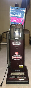 Vintage Hoover Dirt Finder Vacuum Sweeper With Bags and Attachments Tested WORKS