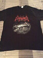 ENTHRONED Tetra Karcist Shirt XL, Gorgoroth, The Chasm, Inquisition, Azarath