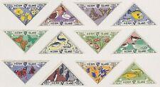 HERM ISLAND 1954 HS6 FLORA AND FAUNA SET, MNH