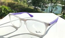 New Ray-Ban Eyeglasses Violet Gradient Frames RB 7045 5600 (Demo) 55-18-145