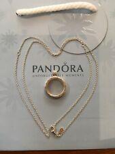Genuine Silver Pandora Medium 2cm Large Locket Necklace 590529