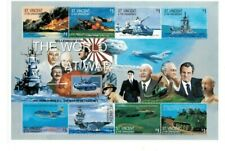 St. Vincent - 2000 - World at War  - Sheet Of Eight - MNH