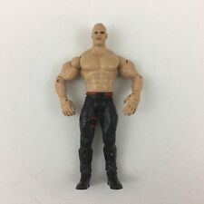 WWE WWF Kane Bald w/o Mask Jakks Pacific Wrestling Action Figure