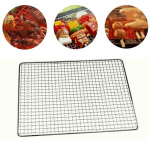 Replace Barbecue Net Stainless Steel BBQ Grill Grate Grid Wire Mesh Cooking Rack
