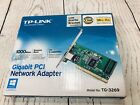 TP-Link Gigabit PCI Network Adapter New Open Box Complete (Q