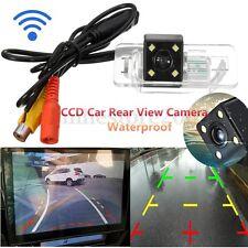 Wireless CCD Backup Reverse Rear View Camera Night Vision For BMW E39 E46 E53