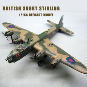 Wwii British Short Stirling 1/144 Diecast Plane Model Aircraft Amer Model