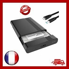 Bo?tier Externe Disque Dur 2.5'' HDD/SSD SATA I/II/III 7mm/9.5mm Windows Mac