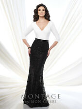 Authenic Montage by Mon Cheri 215916-Color:Navy-Size 12-Mother of Bride