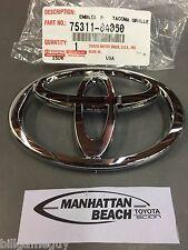 Toyota 2005-2009 TACOMA FRONT GRILLE Emblem Chrome - OEM NEW! 75311-04060