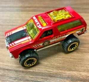 Hot Wheels Chevy Blazer 4x4 #213 HW Rescue 3/10 Loose Red VHTF!