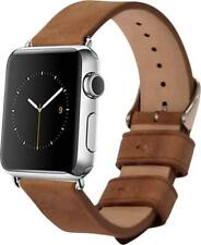 Genuine Leather Band for Apple Watch 38 mm || BROWN || MONOWEAR