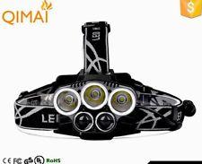 90000LM XM-LT6 Q5 CREE LED BRIGHT HEADLAMP 5 HEAD LIGHT LAMP TORCH FLASHLIGHT AU