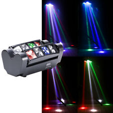 100W DJ Spider Moving Head Light RGBW LED Beam DMX Stage Light Disco Party Light