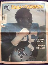 """ NFL Dallas Cowboys Official Weekly Magazine August, 21, 1982; Vol. 8, No.10"