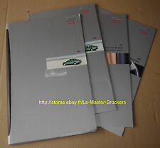 AUDI A6 1.8T 2.4 2.8 1.9/TDI_Lot Catalogues Brochures pub 1997 pochette Germany