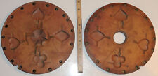 """Vintage 9"""" Rubber Spin Casting Mold Card Suits Poker Spade Club Heart Diamond"""