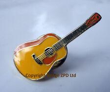 ZP197 Classical Torres Acoustic Guitar Enamel Lapel Pin Badge Parlour