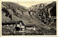 Dietersbach Alpe Bayern alte Postkarte 1959 Panorama mit Kreuzeck und Rauheck