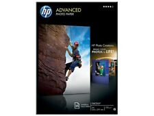 HP ADVANCED (A4) papier photo brillant (25 feuilles) 250g/m2 (Blanc)