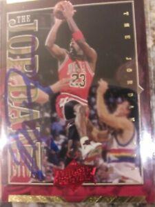MICHAEL JORDAN Autographed Upper Deck CHICAGO BULLS NBA No COA