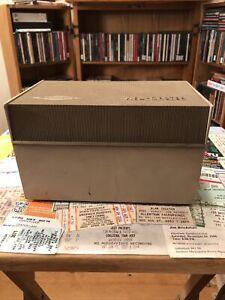 Vintage View-Master Collector's Case Beige, Tan SAWYER's Read Description