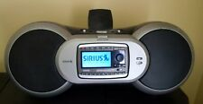 Sirius Xm satellite radio Sp-B1a boombox with Sp-R2 receiver, antenna, charger