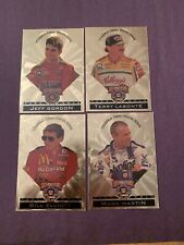 1998 Wheels Pure Gold Lot of 4 Jeff Gordon, Elliott, Labonte, Martin