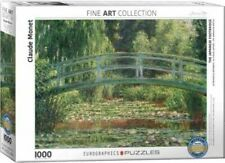 Eurographics Japanese Footbridge Claude Monet 1000 piece jigsaw puzzle EG6000827