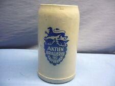 alter Brauereikrug Bierkrug 1 l  AKTIENBRAUEREI KAUFBEUREN (4)
