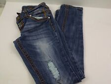 Womens Almost Famous Always Fabulous Jeans size 7 ultra Low