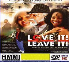 LOVE ITT OR LEAVE IT-Haitian Comedy DVD Movie Drama Suspense Humor Satire Creole
