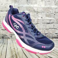 Ryka Devotion XT Womens Athletic Training Sneaker Shoes Size 8.5 M Blue & Pink