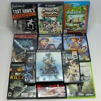 Variation Listing | Mixed Lot of Tested Video Games | PS2 Xbox GameCube Wii PC
