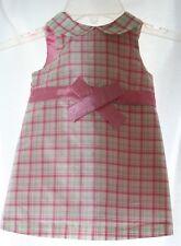 Baby Gap Adorable Plaid Silk Dress Infant 6-12 months Multi-Color, Sleeveless