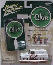 Johnny Lightning Vintage Clue Series 1955 Ford Panel Truck Mrs White Dining room
