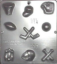 Sports Assortment Chocolate Candy Mold  314 NEW