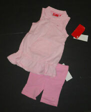 NEW PUMA 2PC OUTFIT SET 24  MONTHS GIRLS PINK SLEEVELESS TOP & SHORTS AUTHENTIC