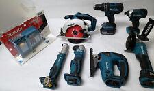 7 Tool Makita Power Tool Set w/Charger - 11/B7251A