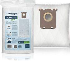 WESSPER Staubsaugerbeutel HOMEline S-Bag + Anti-Allergen-Filter für Staubsauger