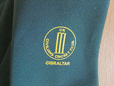 GIBRALTAR UK Civilians CRICKET Club Tie - SEE PICTURES