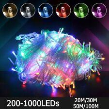Fée LED Guirlande Lumineuse Extérieur Étanche AC220V Pour Noël Fête Vacances