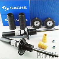 2x SACHS 313 053 Stoßdämpfer + Staubschutzsatz Domlager vorne Audi A3 VW Touran