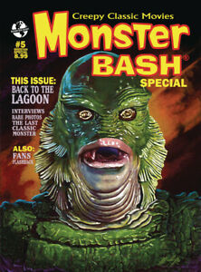 MONSTER BASH SPECIAL #5: CREATURE FROM THE BLACK LAGOON Gill-Man JULIE ADAMS!