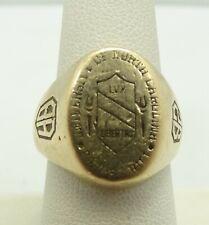 18K Yellow Gold University of North Carolina Chapel Hill '92 Class Ring M450